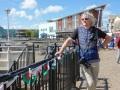 Im Hafen von Cardiff