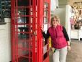 Und noch eine rote Telefonzelle