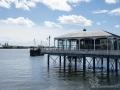 Kleines Restaurant / Kaffeeaus im Hafen