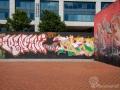 Straßenkunst oder Graffiti?