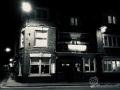 Das Qudos bei Nacht