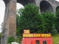 """Auch """"Hand wash"""" Station gibt es in jeder Stadt"""