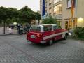 Parken vor dem Hotel