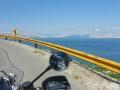 Die Küstenstraße entlang
