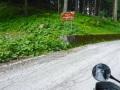 In den Dolomiten auf und ab