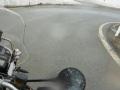 Im Regen den Umbrail Pass herunter