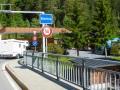 Grenze zu Österreich