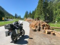 Auffahrt zum Silvretta Pass