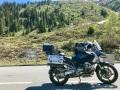 Silvretta Pass war Mitte Juni noch gesperrt
