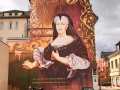 Fassadenmalerei in Rastatt, Schloß Favorite