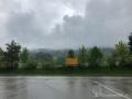 Und immer wieder Regen und unter 10 Grad