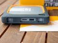 Anschlüsse der My Passport Wireless SSD von WD