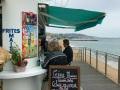 Kaffeebude am Meer