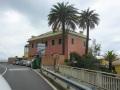 Genua, jetzt links ab Richtung Berge