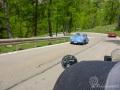 Porsche 356 und Ferrari am Passo Rollo
