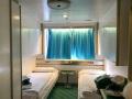 Außenkabine mit eigener Dusche