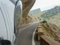 Auf leeren Straßen zurück Richtung Alcudia