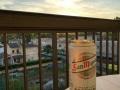 Zum Tagesende ein San Miguel