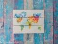 Eine Weltkarte passend zum Büro