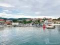 Der Hafen von Slatine