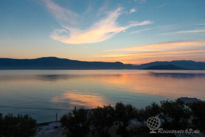 Sonnenaufgang an der Adria