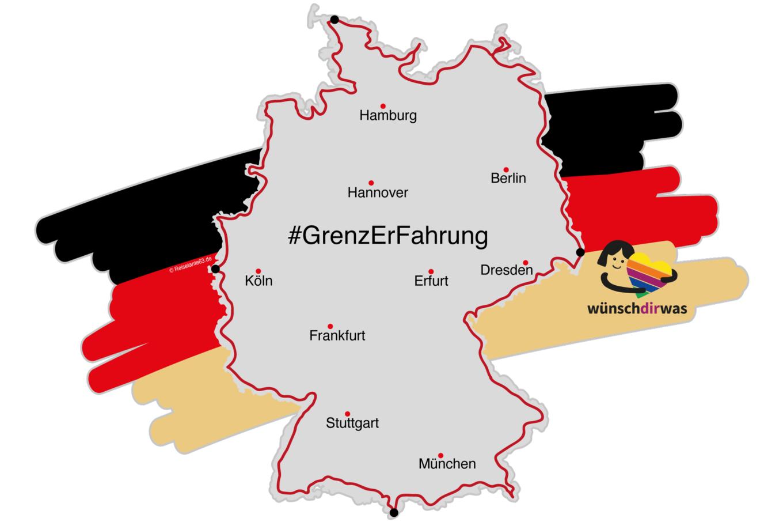 """GrenzErFahrung 2020 """"wünsch dir was"""" Spendenreise"""