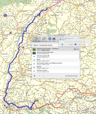 Tagesetappe Deutschland Tour - Tag 20