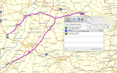 Tagesetappe Deutschland Tour - Tag 21