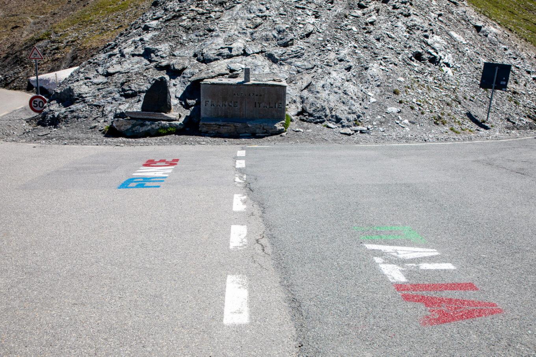 Col d'Agnel (2.748m) Frankreich - Italien