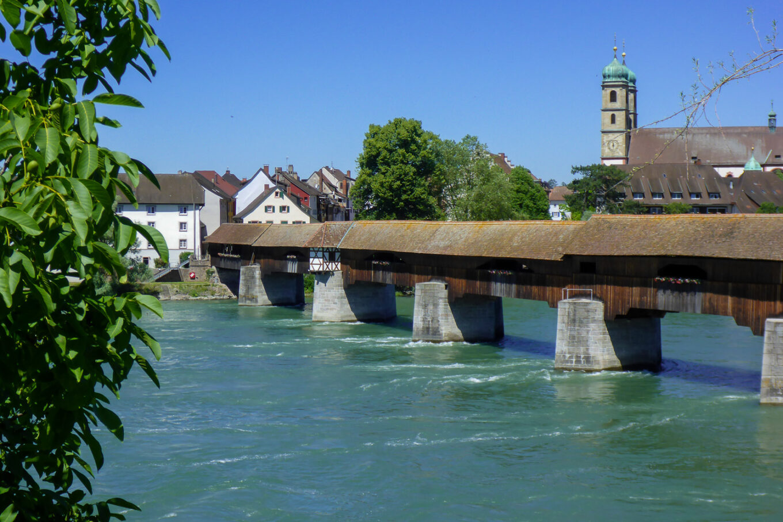 Holzbrücke in Bad Säckingen